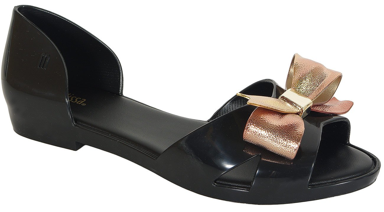 Melissa Seduction IV AD sandały black/gold