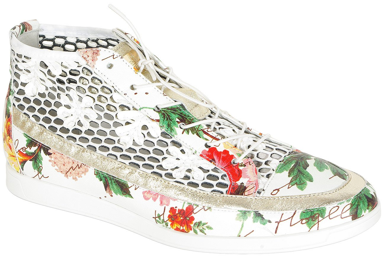 Hogl 0543 Flowery sneakers white/multi