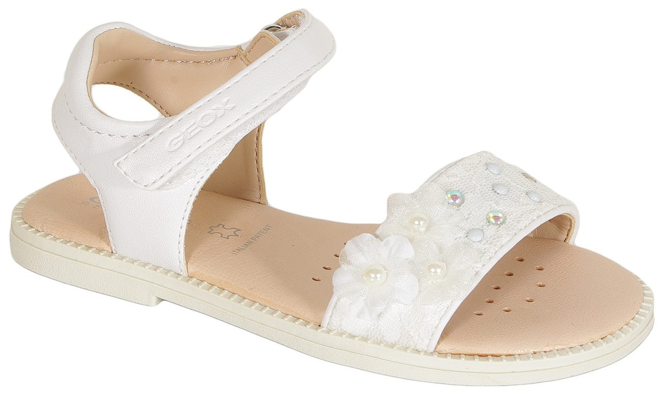 GEOX Karly G.E sandały tex+synt white
