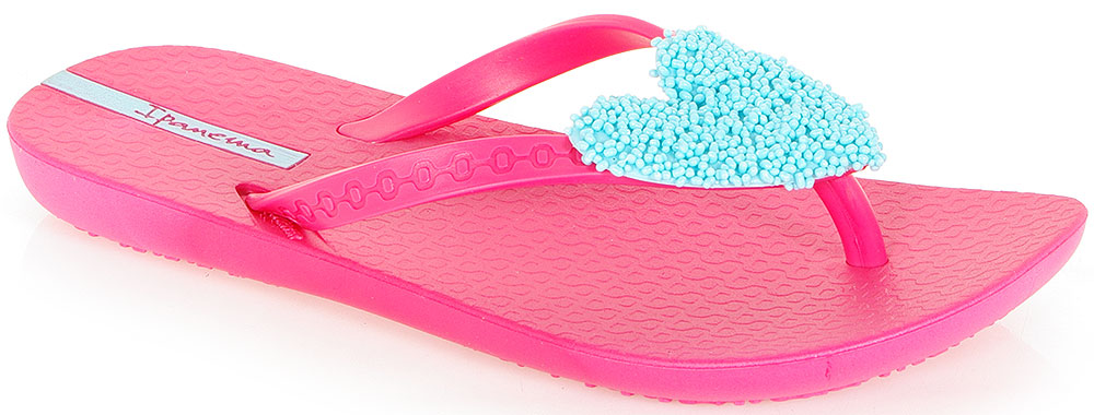 IPANEMA SUMMER LOVE II KIDS 81203 PINK/BLUE KLAPKI-JAPONKI