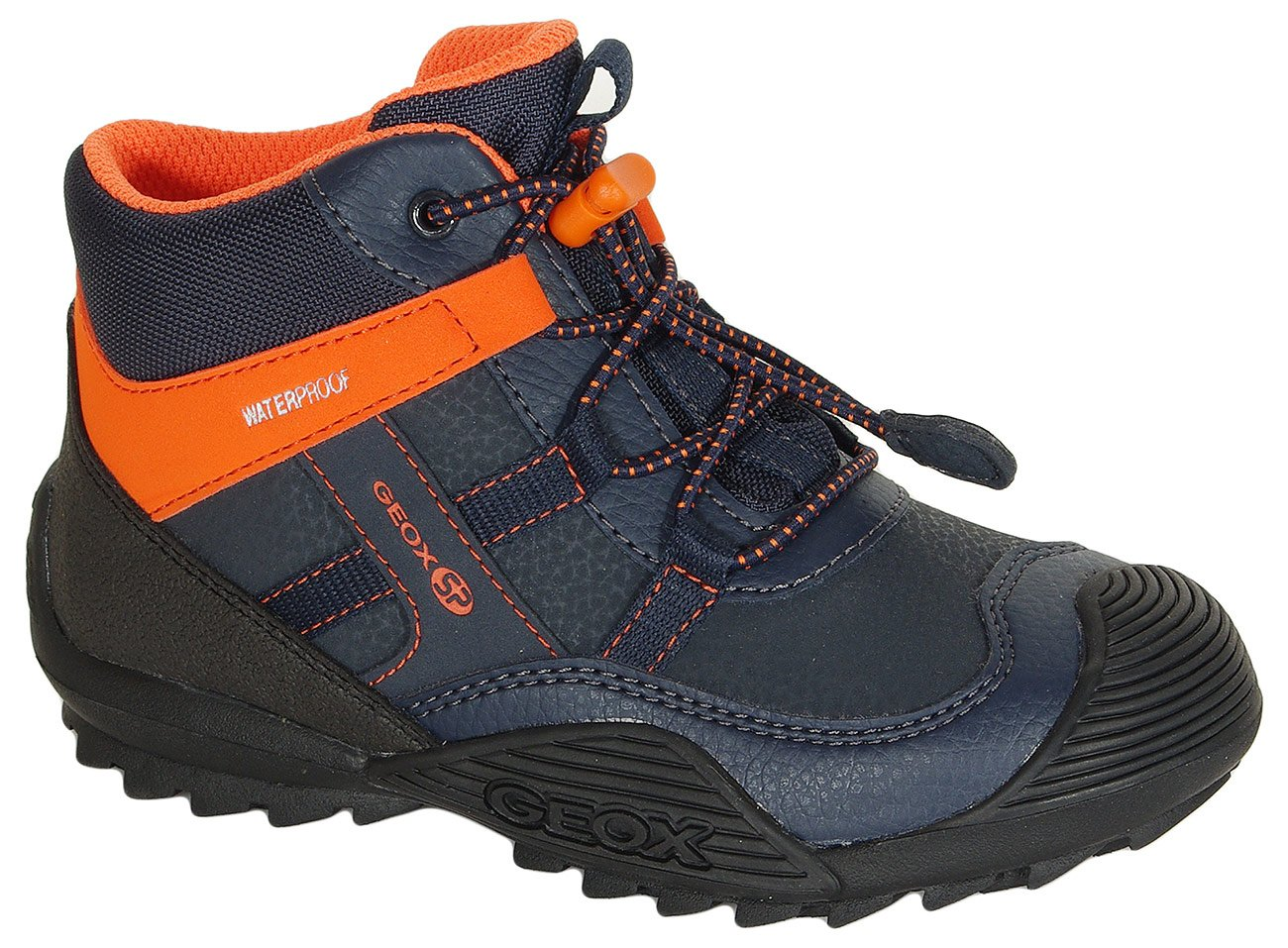 GEOX Atreus B trzewiki WPF navy/orange