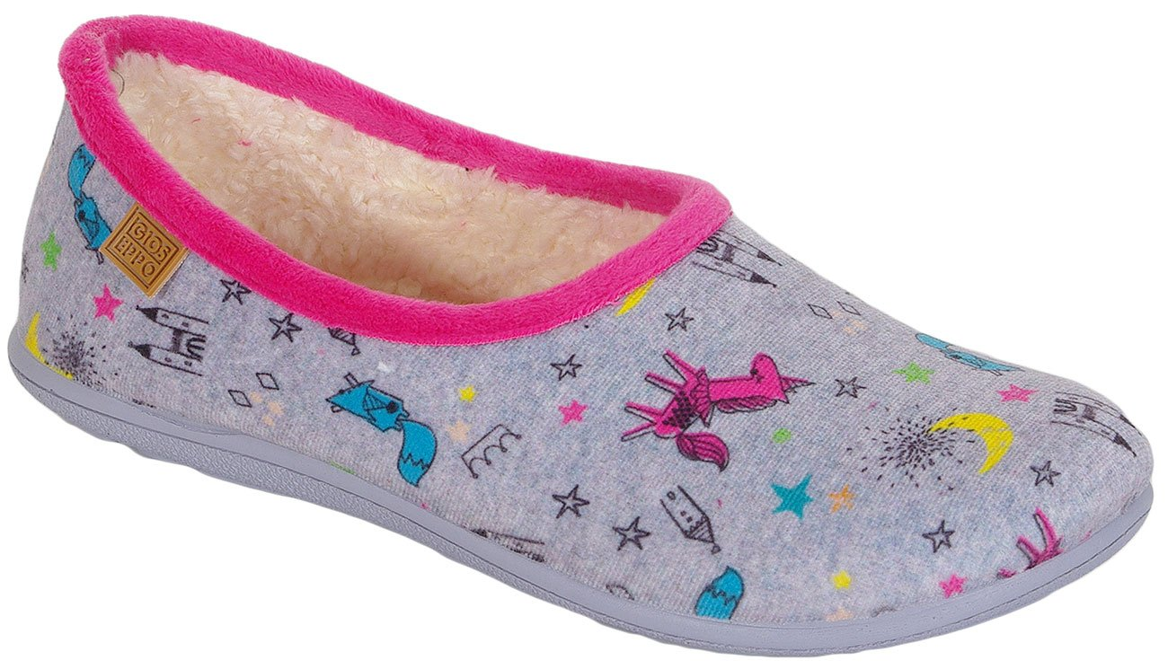 Gioseppo 40942 Gris obuwie domowe