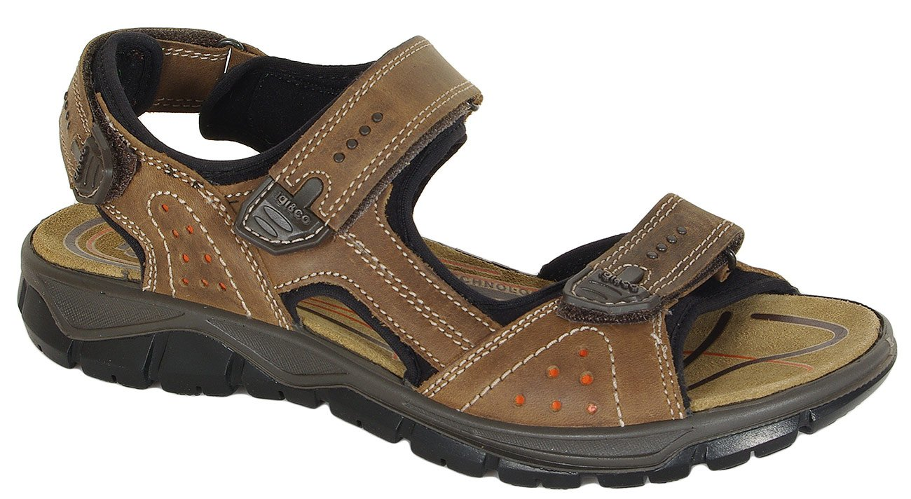 igi&co 31417 sandały nabuk schiar/fango