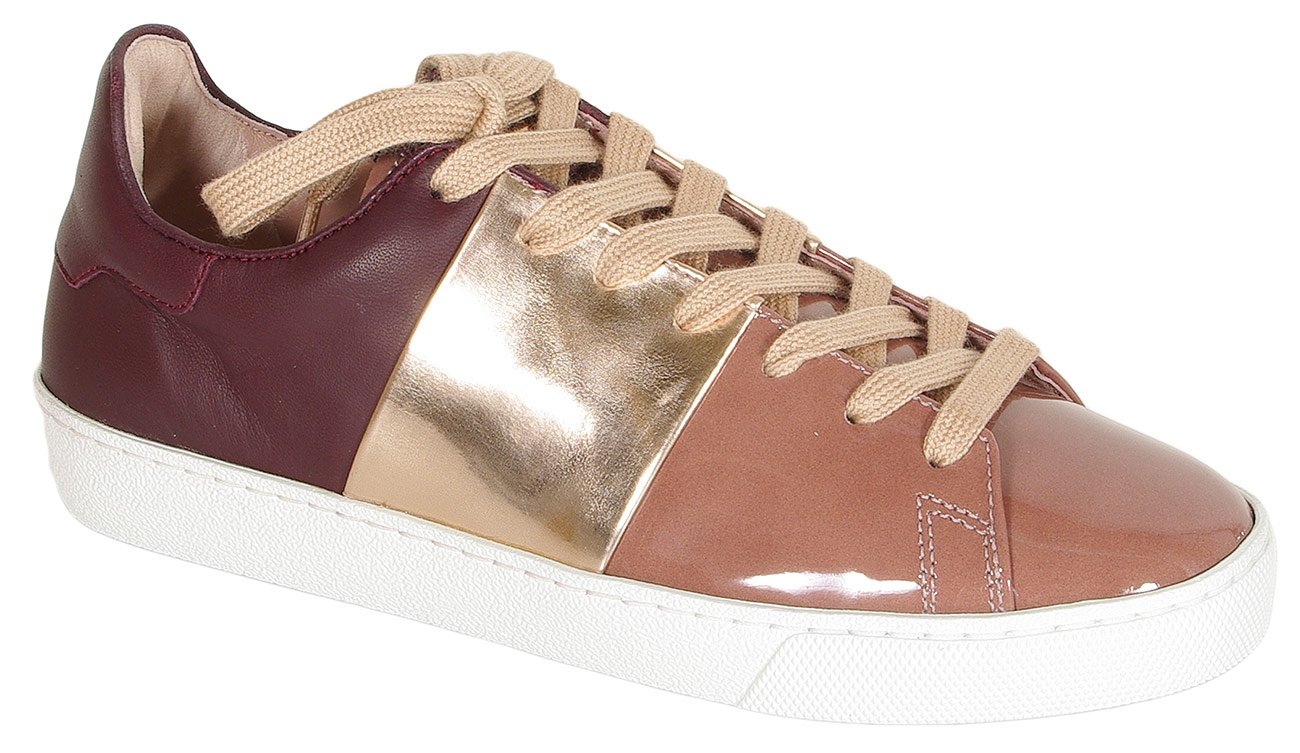 Hogl 0324 GLORIOUS sneakers softlack darkrose vino