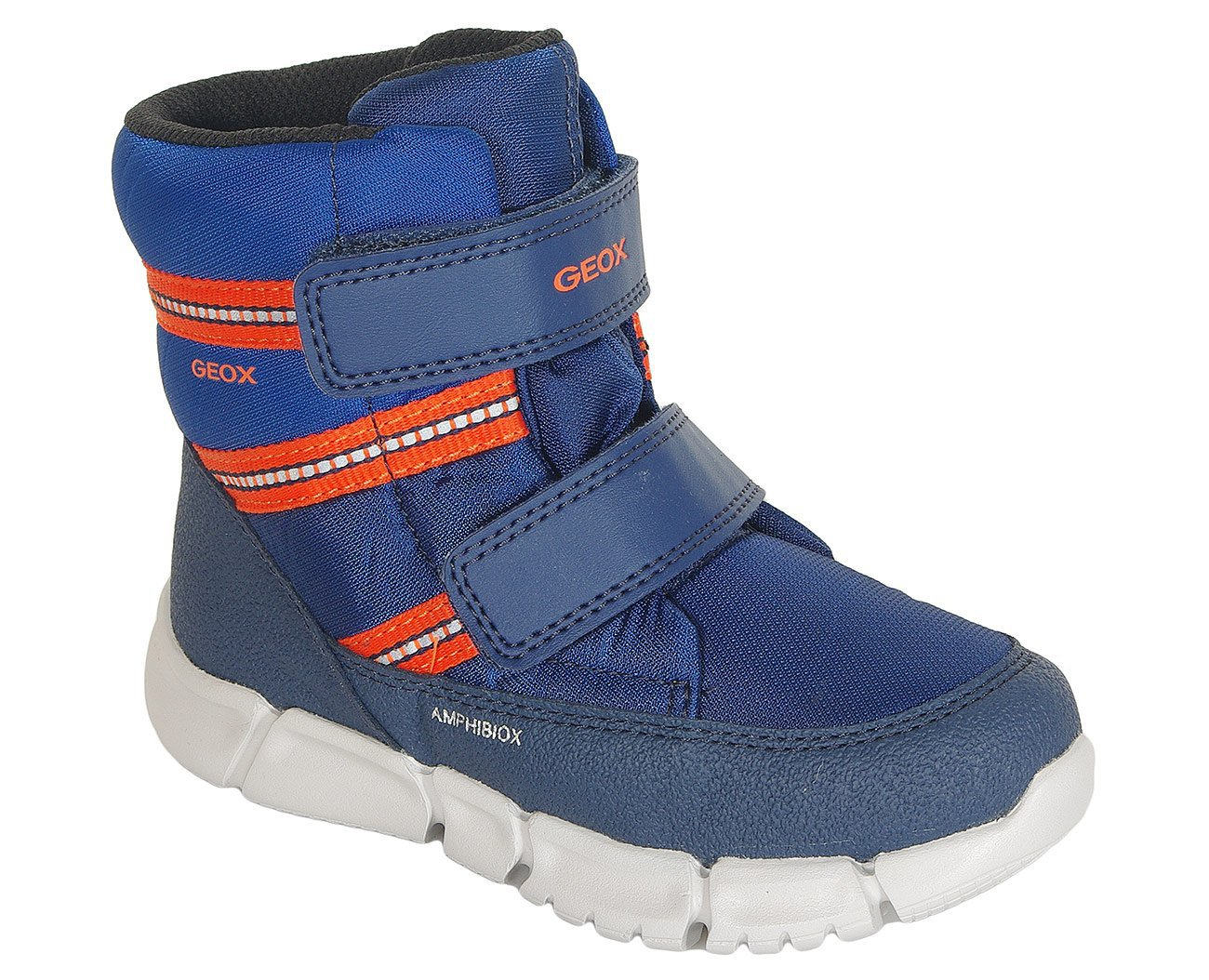 Geox Flexyper C ABX trzewiki Boy nyl+gbk navy/orange