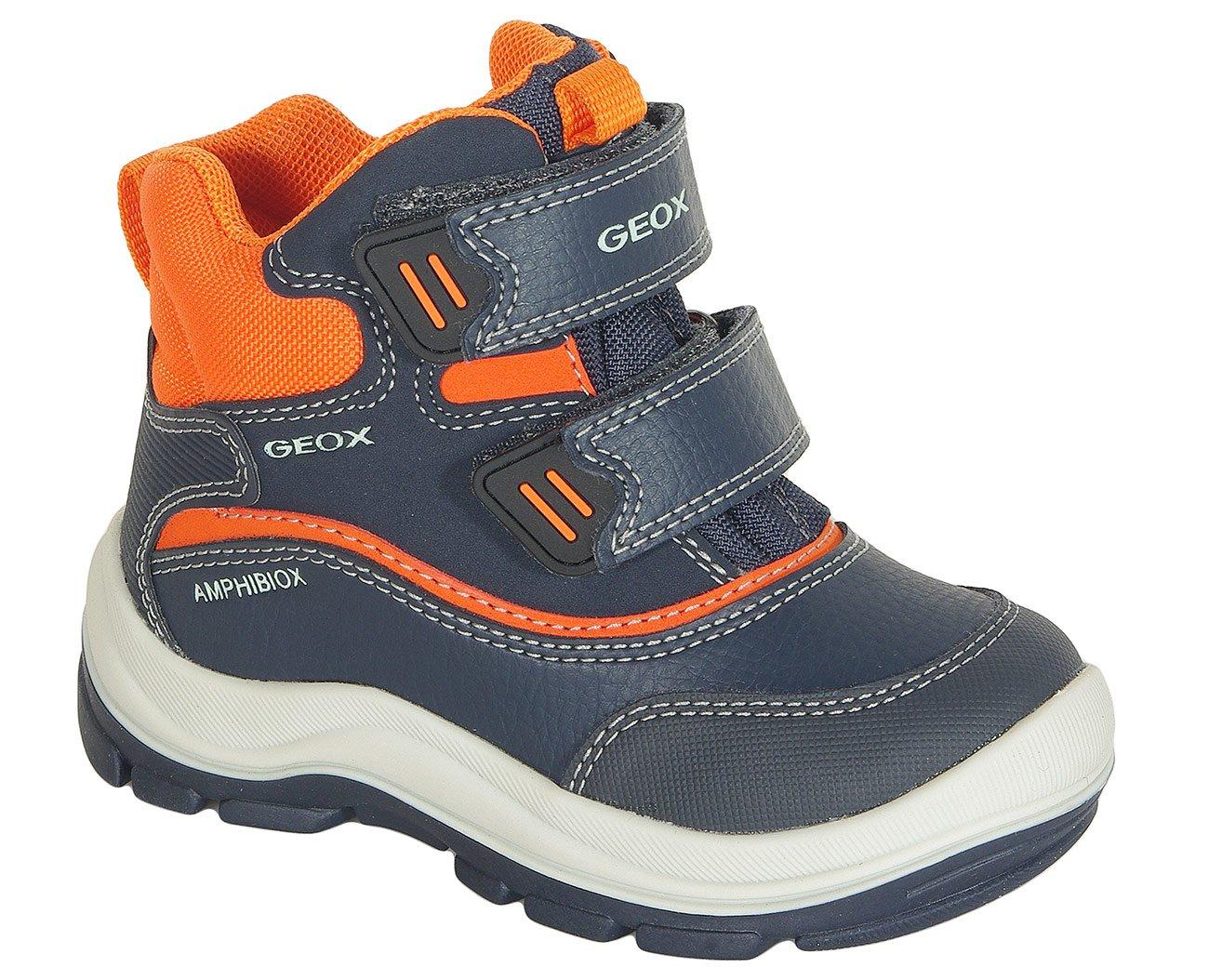 Geox Flanfil B trzewiki Abx boy navy/orange