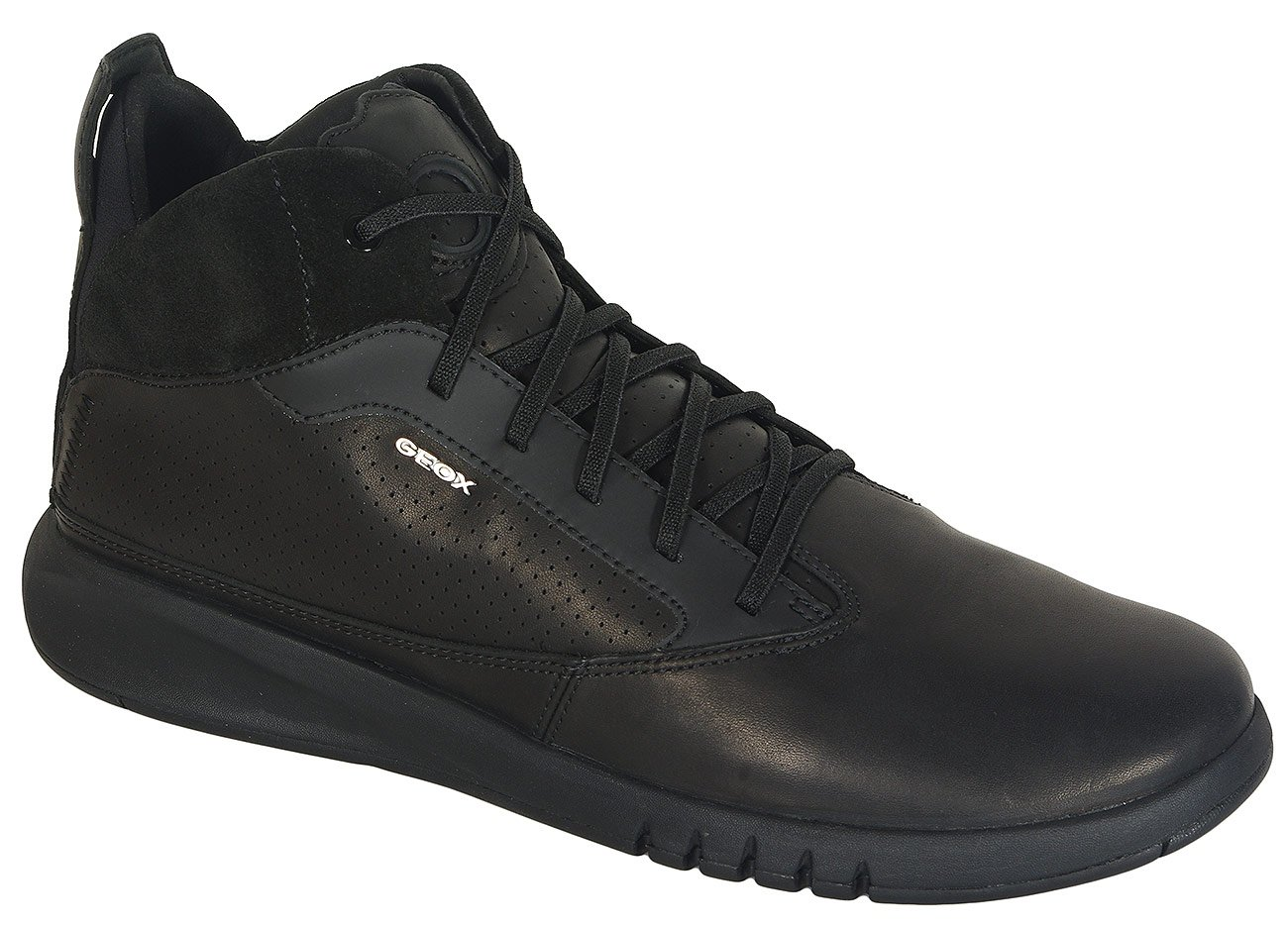 Geox Aerantis A sneakers leather black