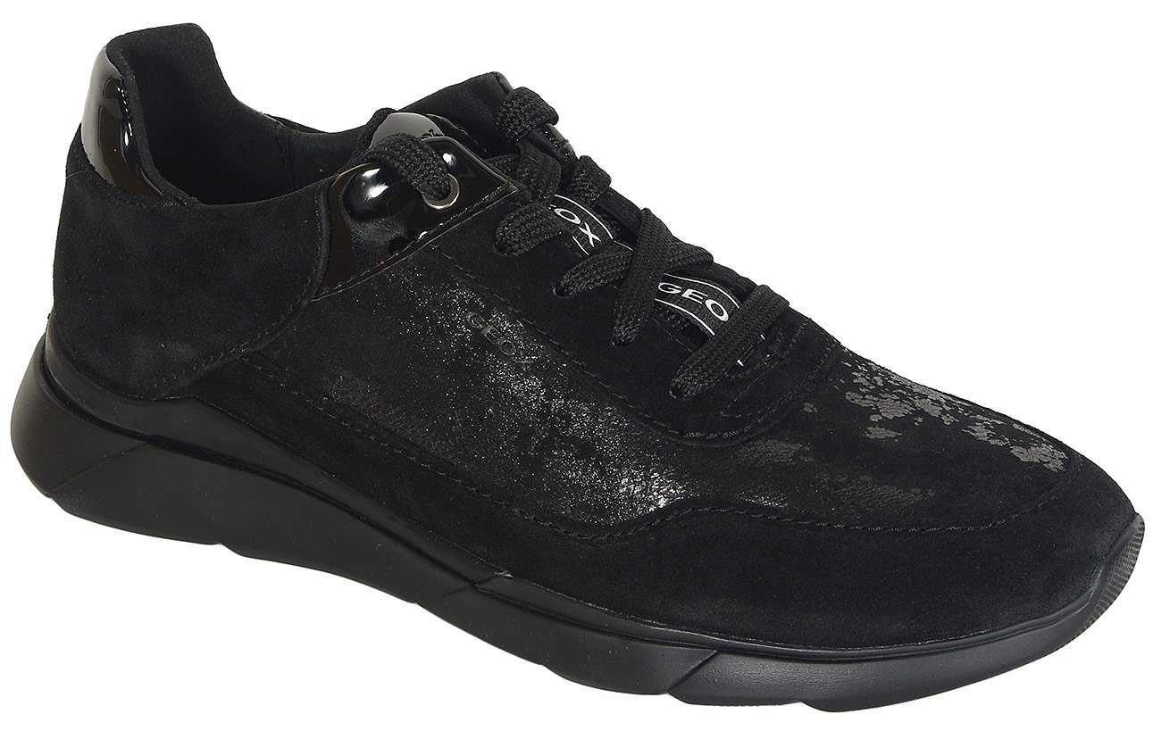 Geox Hiver A sneakers suede black