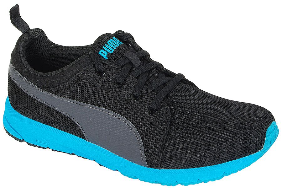 PUMA CARSON RUNNER JR BLACK-ATOMIC BLUE 187894 SPORTOWE