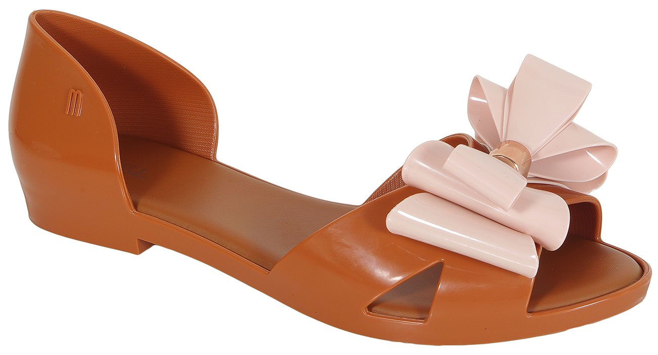 Melissa Seduction II AD sandały Brown Light Pink