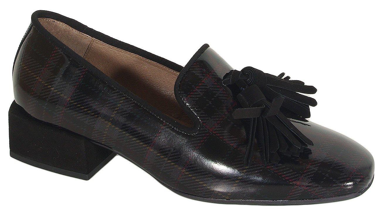 Wonders 5802 loafers tartan negro