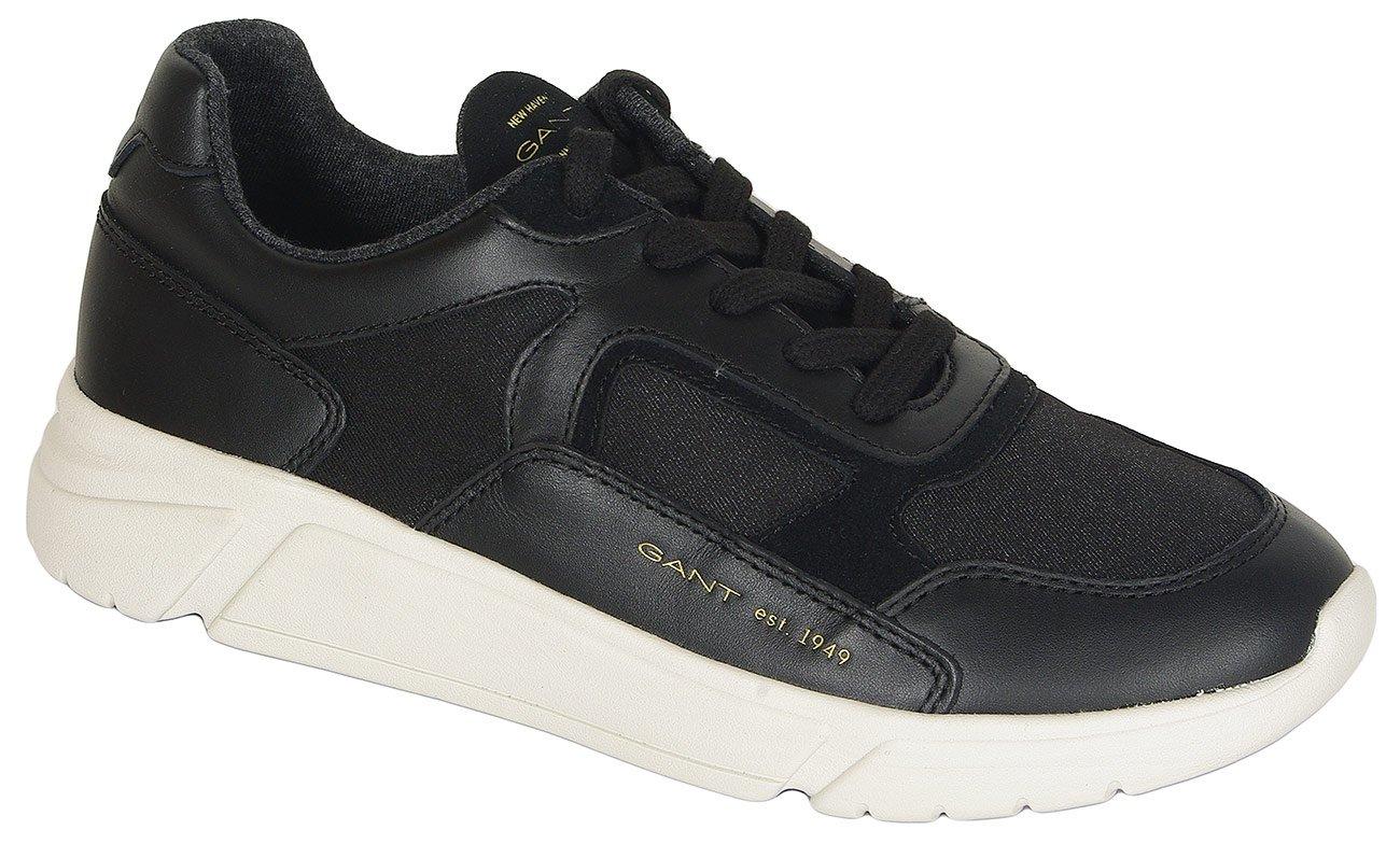 Gant Madison sneakers leather+nylon black