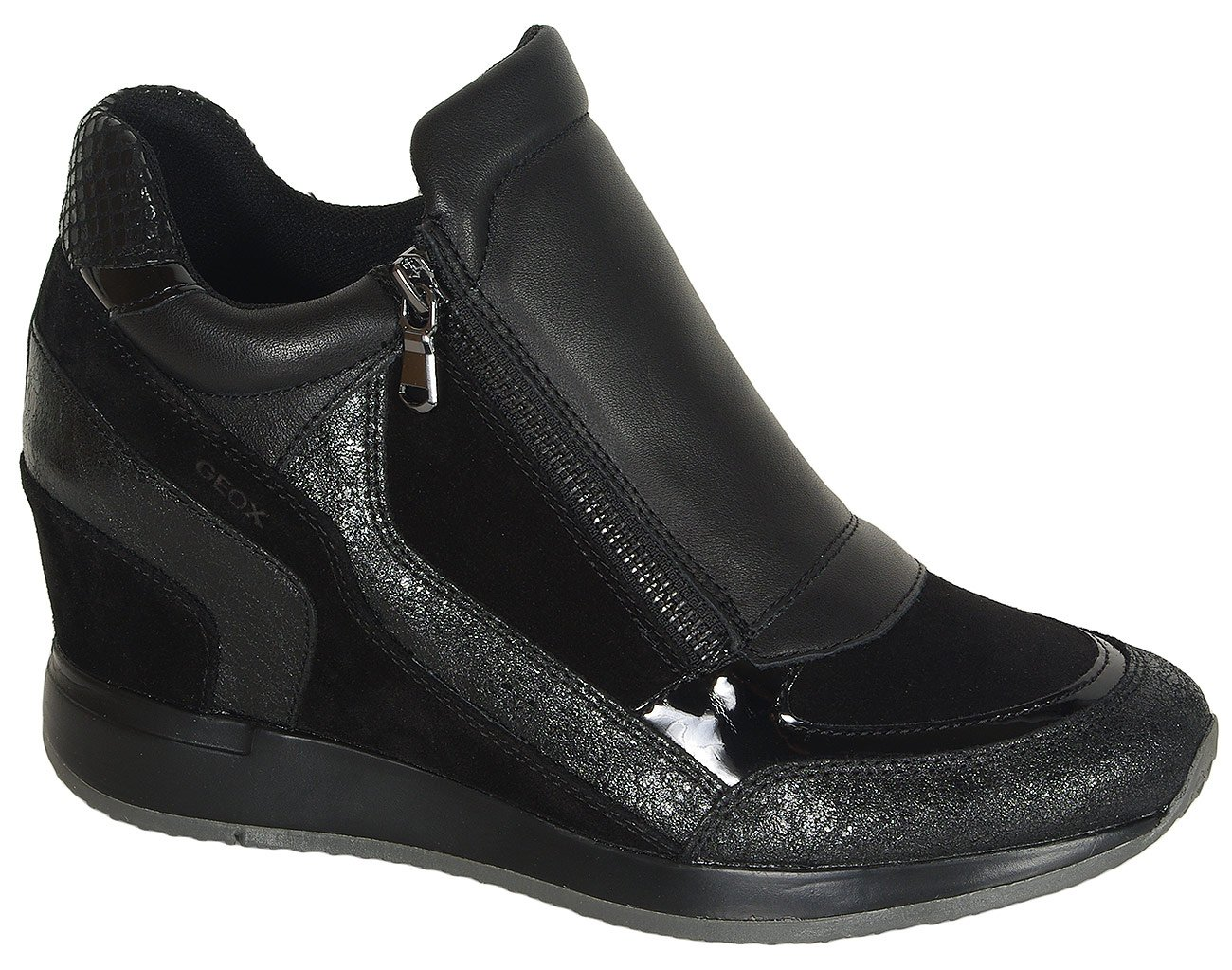GEOX Nydame A sneakers suede black