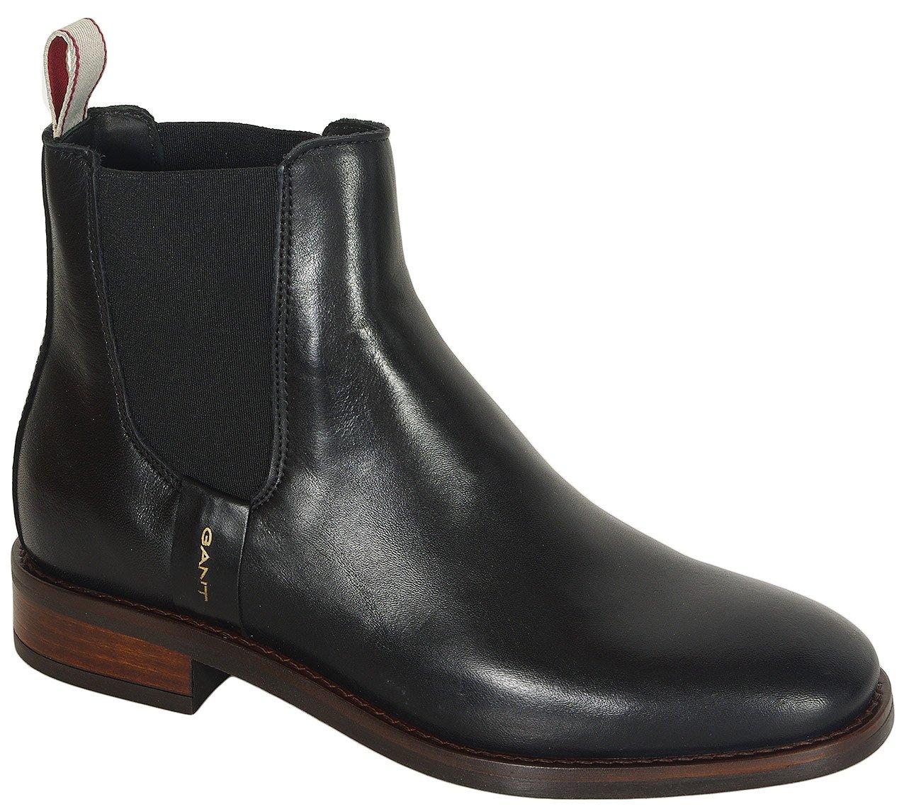 Gant Fay botki leather black