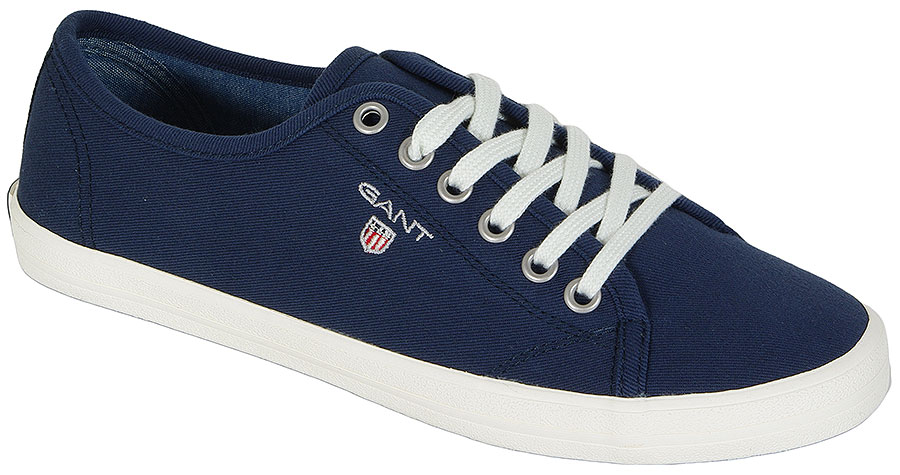 GANT NEW HAVEN 12538062 TWILL TEXTILE NAVY BLUE SNEAKERS