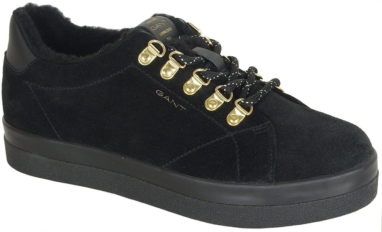 Gant Aurora sneakers sliky suede black