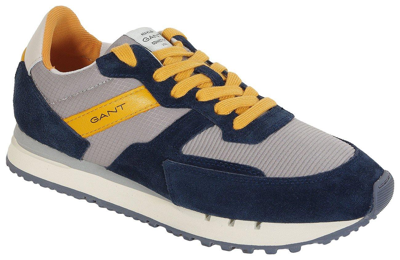Gant Duke Suede+Textile sneakers marine/sleet gray