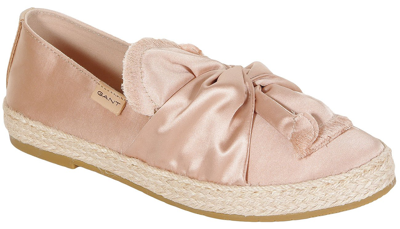 Gant Krista Satin slip on silver pink