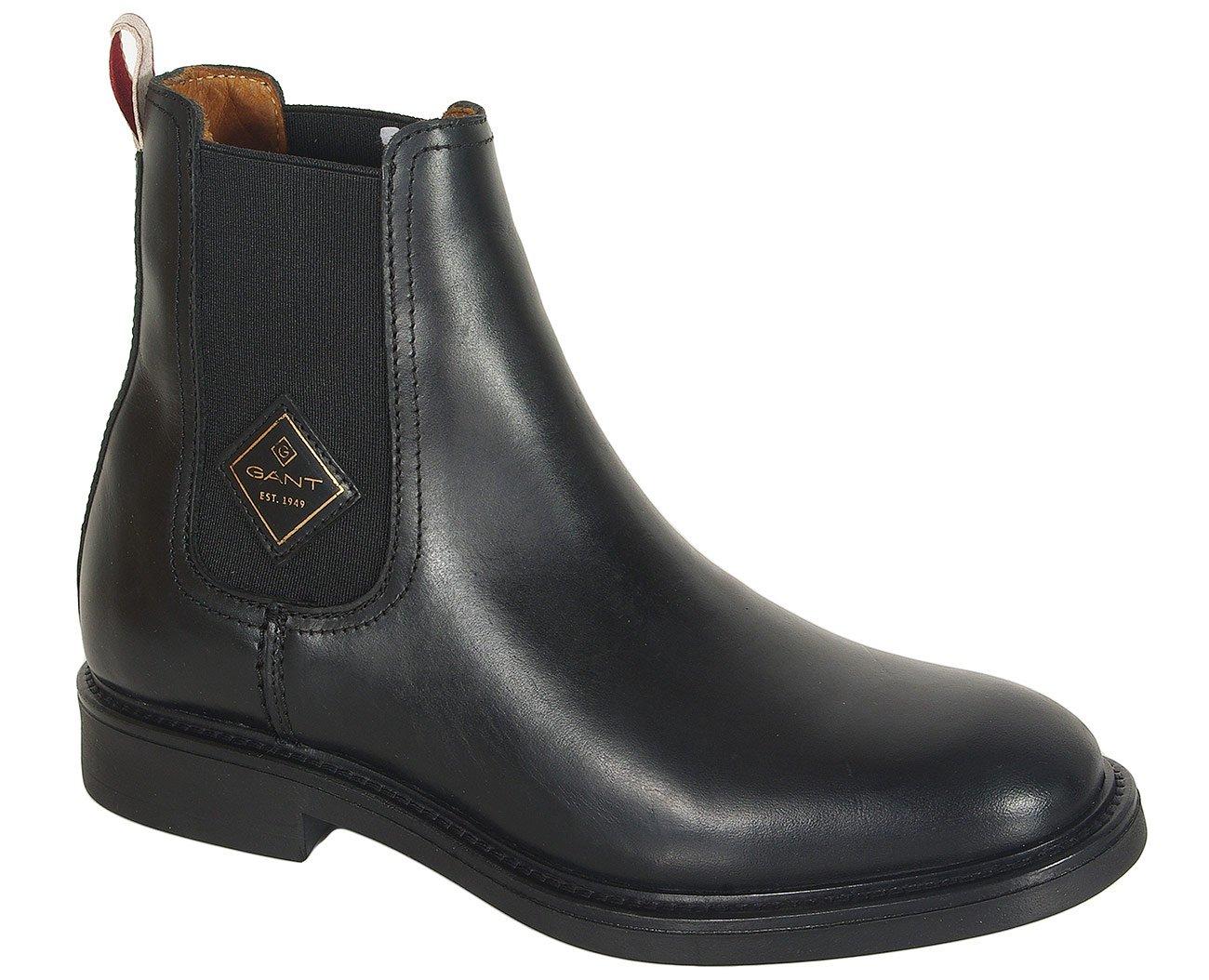 Gant Ashley botki pull up leather black