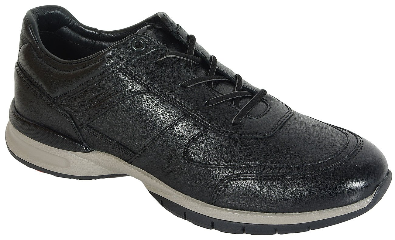 Lloyd Aston Black sneakers Omega Waxy