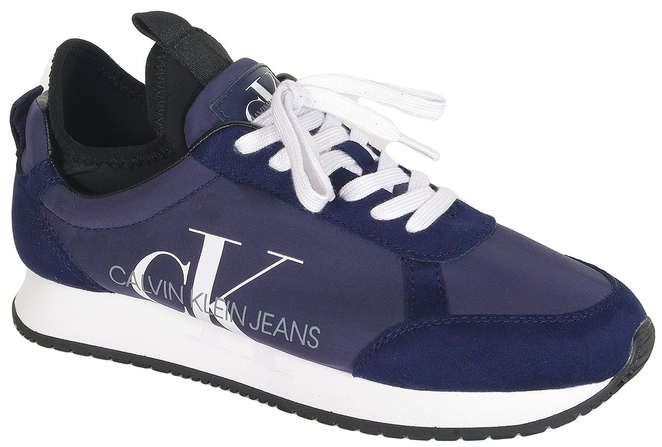 Calvin Klein Jeans Jemmy sneakers low top lace up - sued