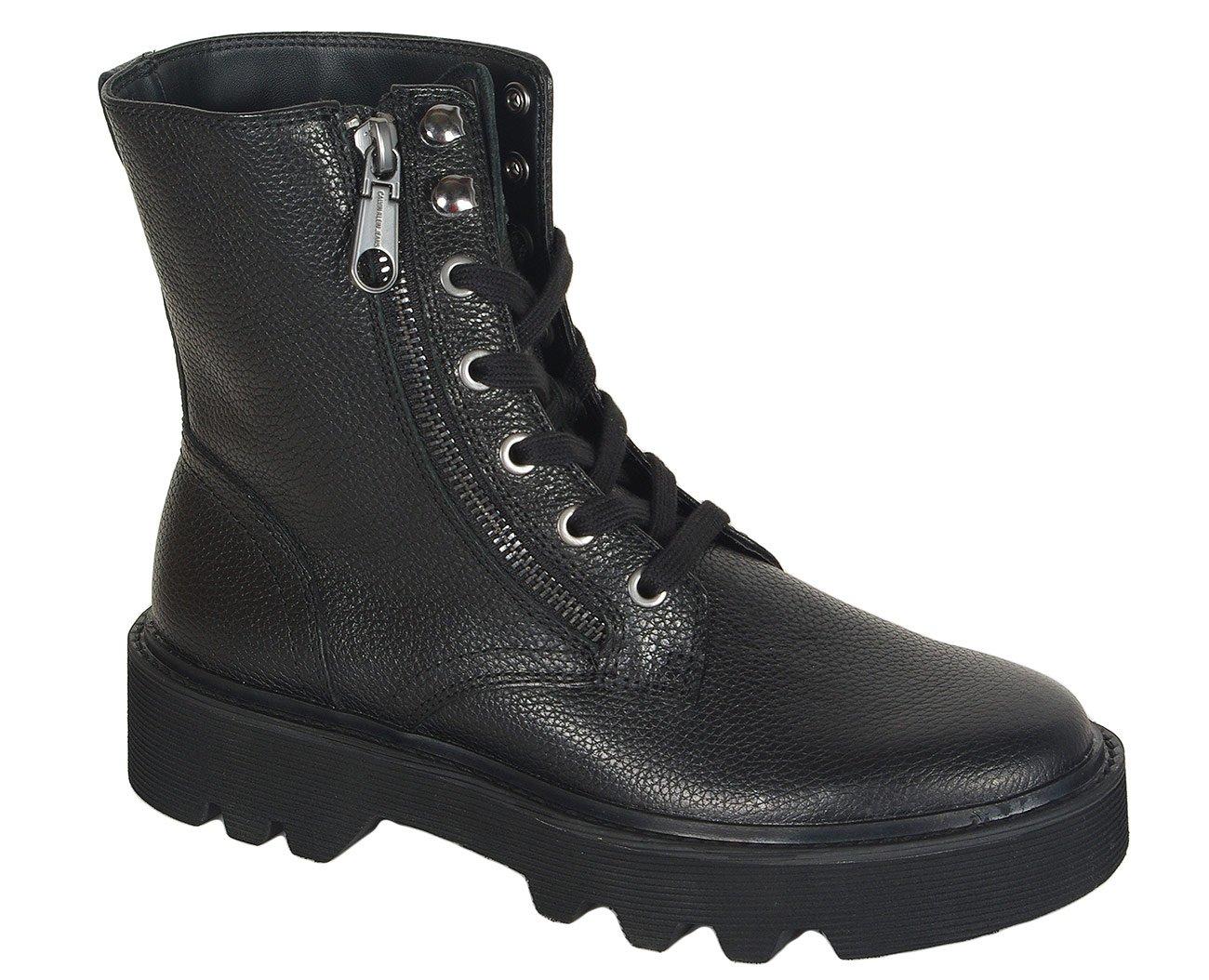 Calvin Klein Jeans Diahne trzewiki tumbled leather
