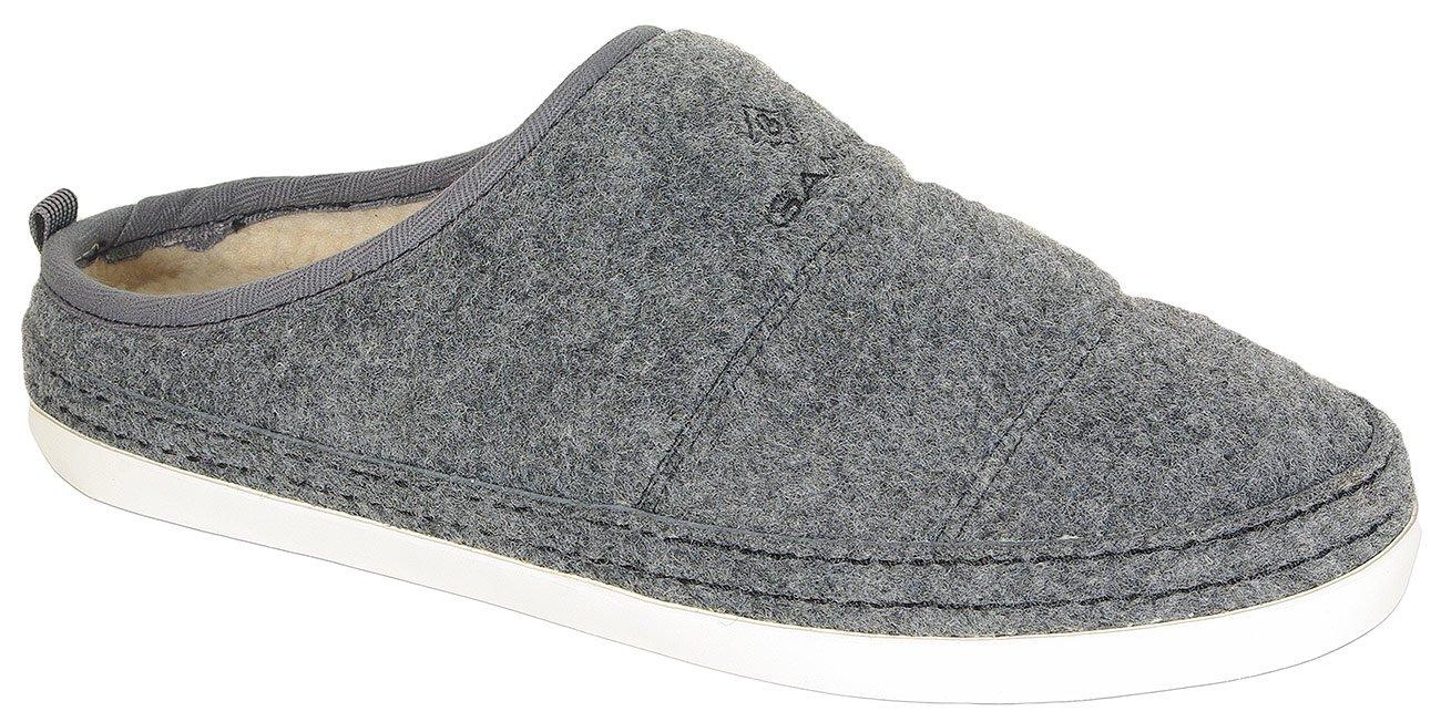 Gant Frank obuwie domowe felt graphite grey