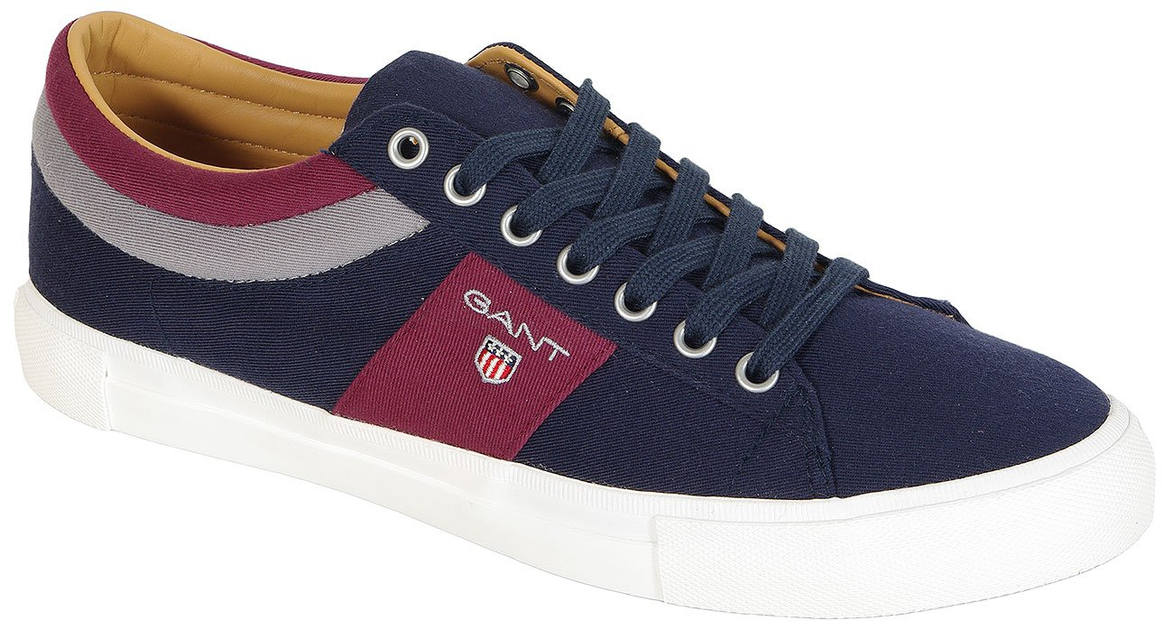 Gant Hero Cotton Twil sneakers marine