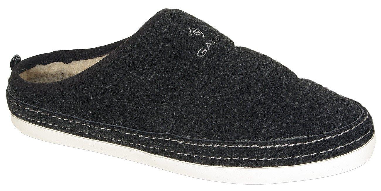 Gant Frank obuwie domowe felt black