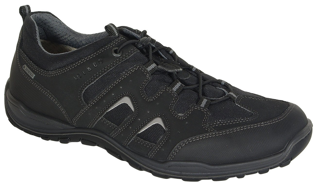 igi&co 31252 sneakers nabuk nero