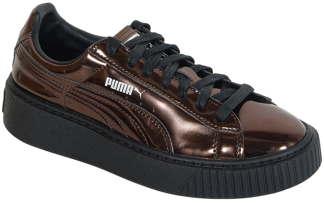 Puma Basket Creeper Metallic Black 362339 sneakers
