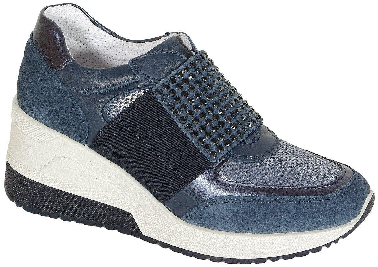 igi&co Conni sneakers scamoscio jeans