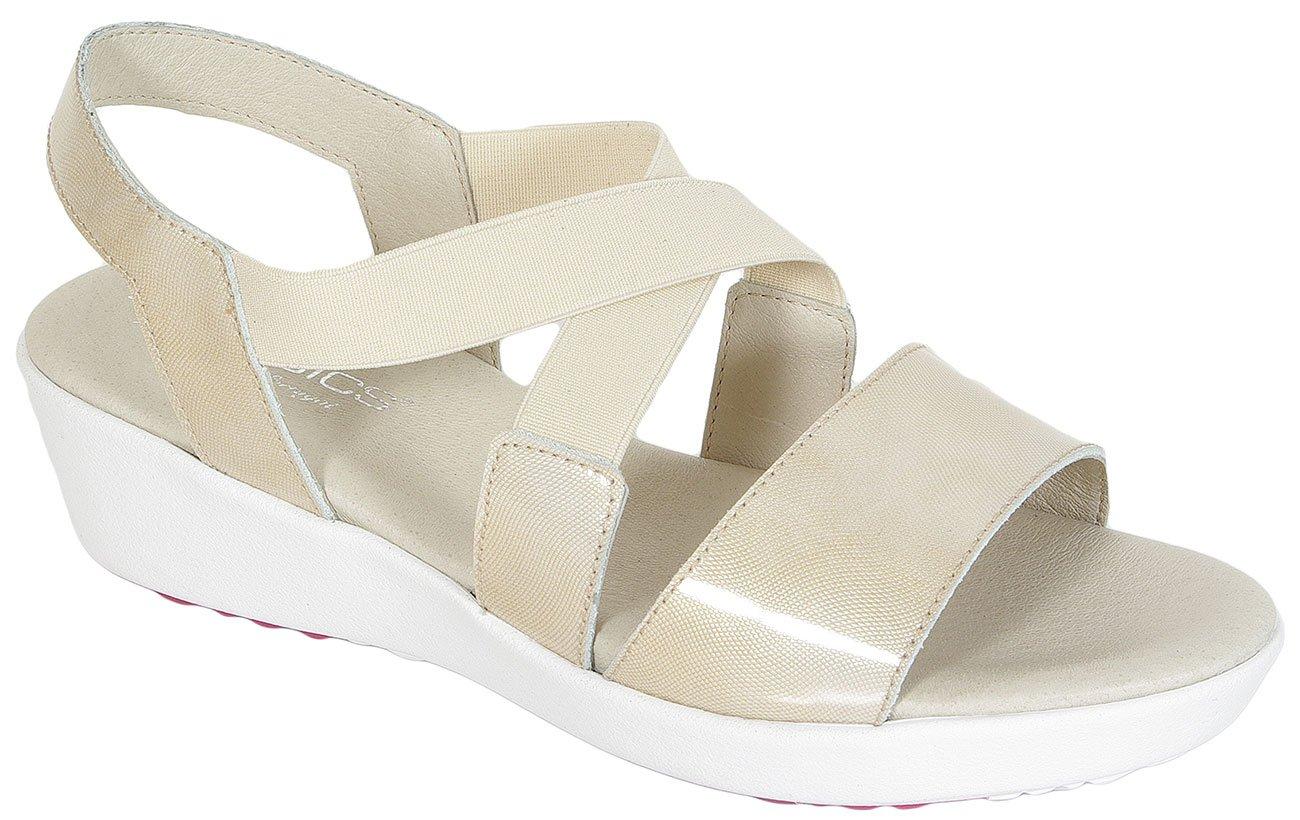 Aerobics Dido Patent Teruel sandały beige