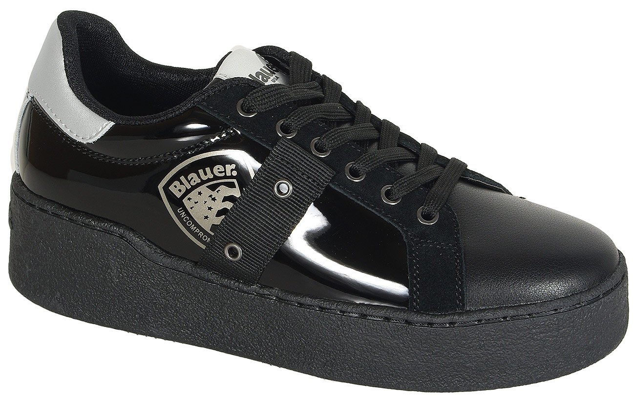 Blauer. USA Madeline02 sneakers lam black