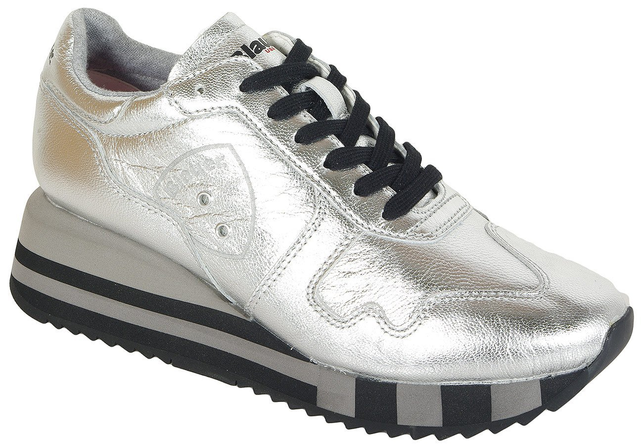 Blauer. USA Charlotte01 sneakers lam silver