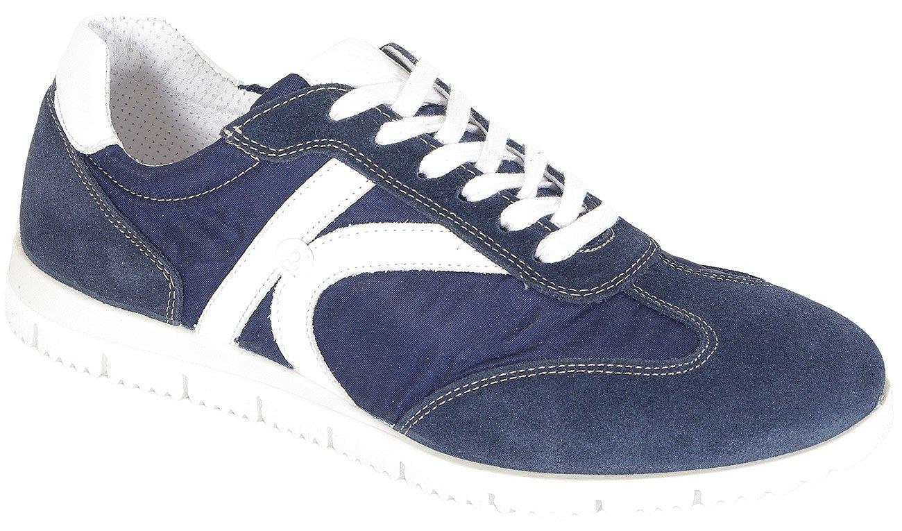 igi&co 31219 sneakers scamoscio blu