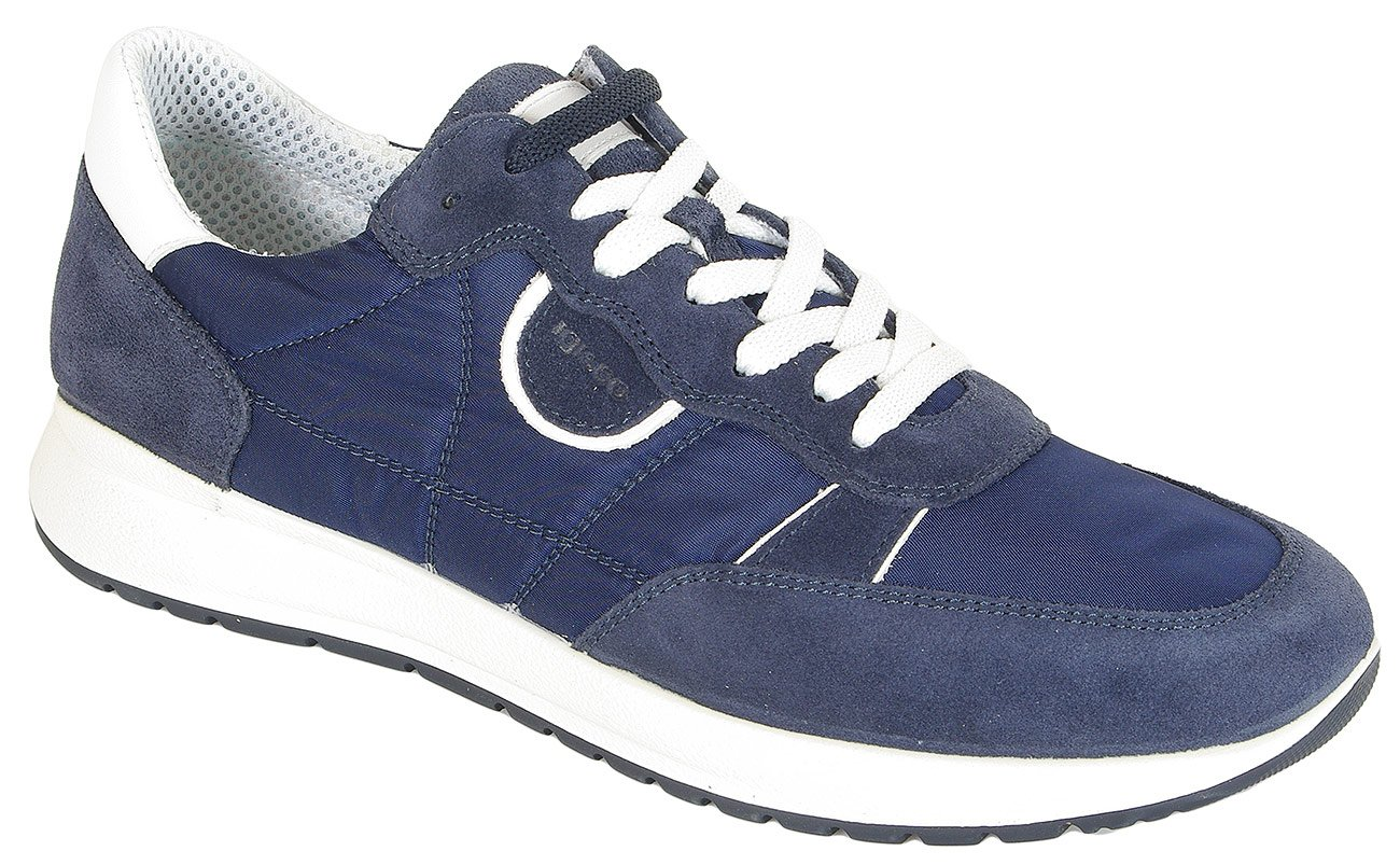 igi&co 31255 sneakers scamoscio blue