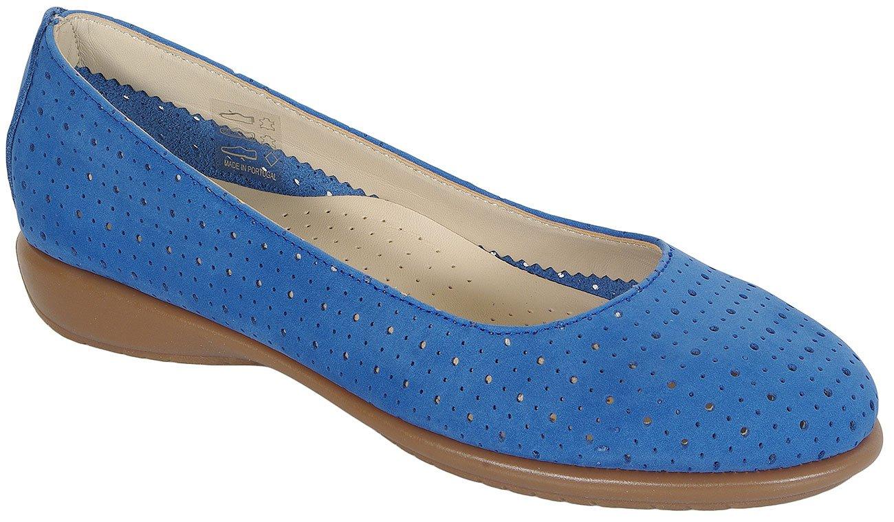 Aerobics Dance Perf Nubuck baleriny blue