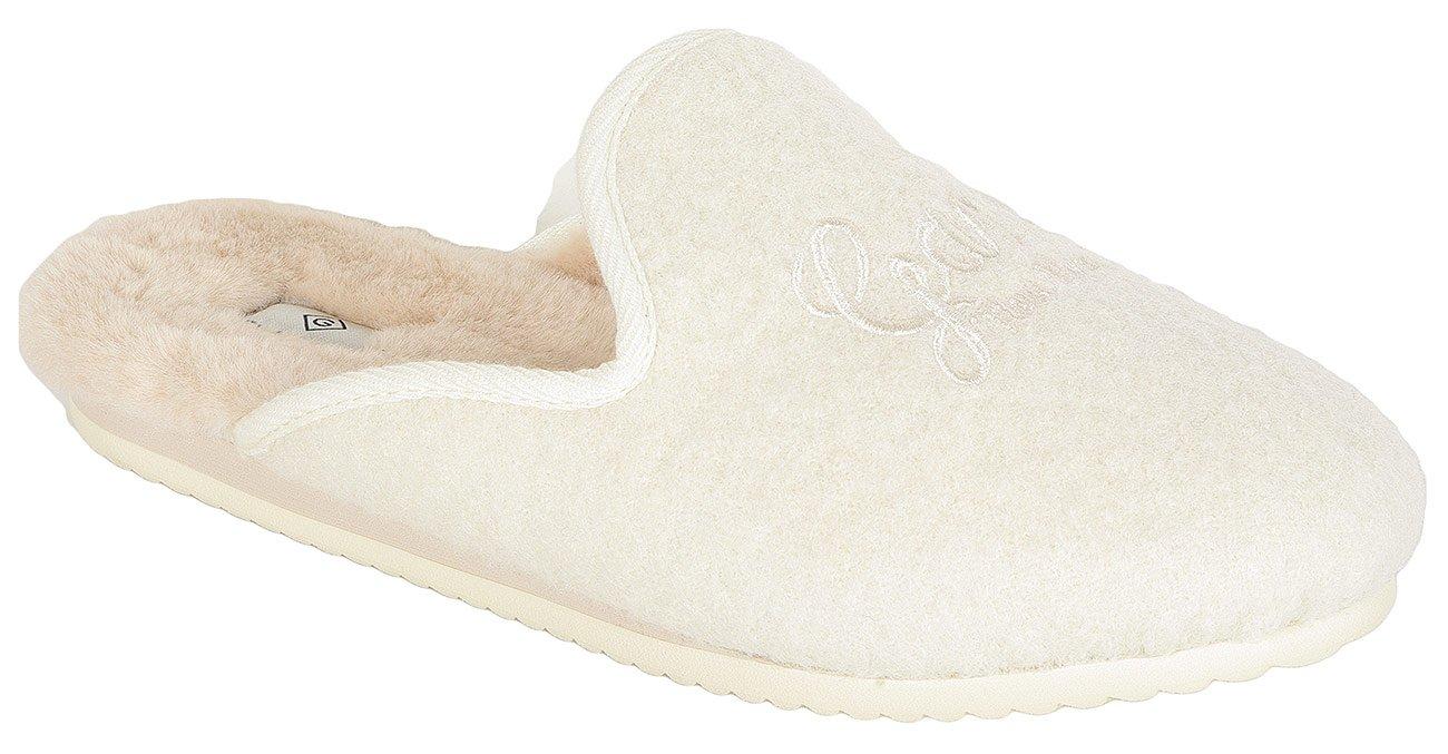 Gant Lazy obuwie domowe wool cream