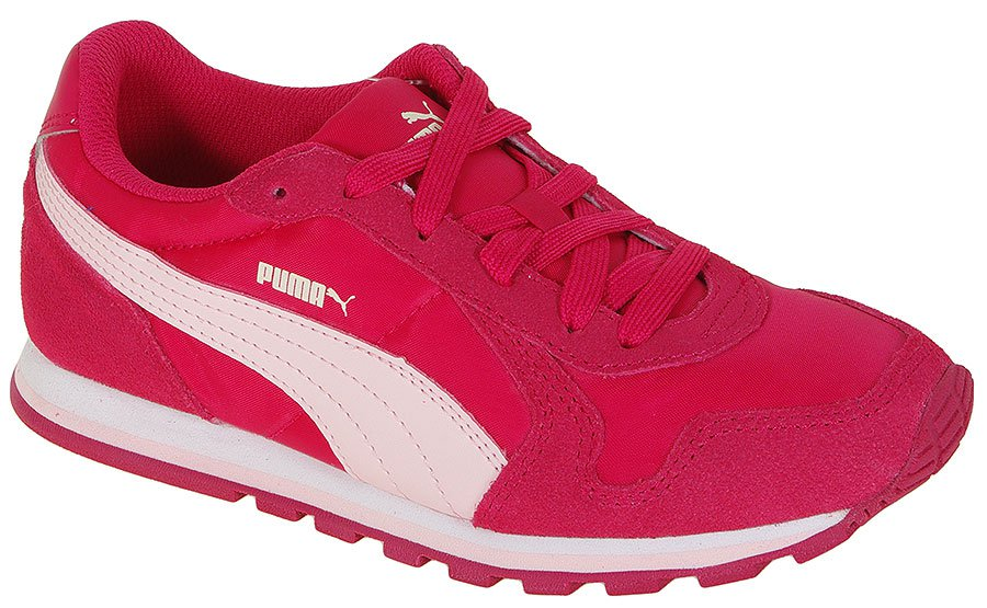 PUMA ST RUNNER NL JR 358770 ROSE RED-PINK DOGWOOD SNEAKERS