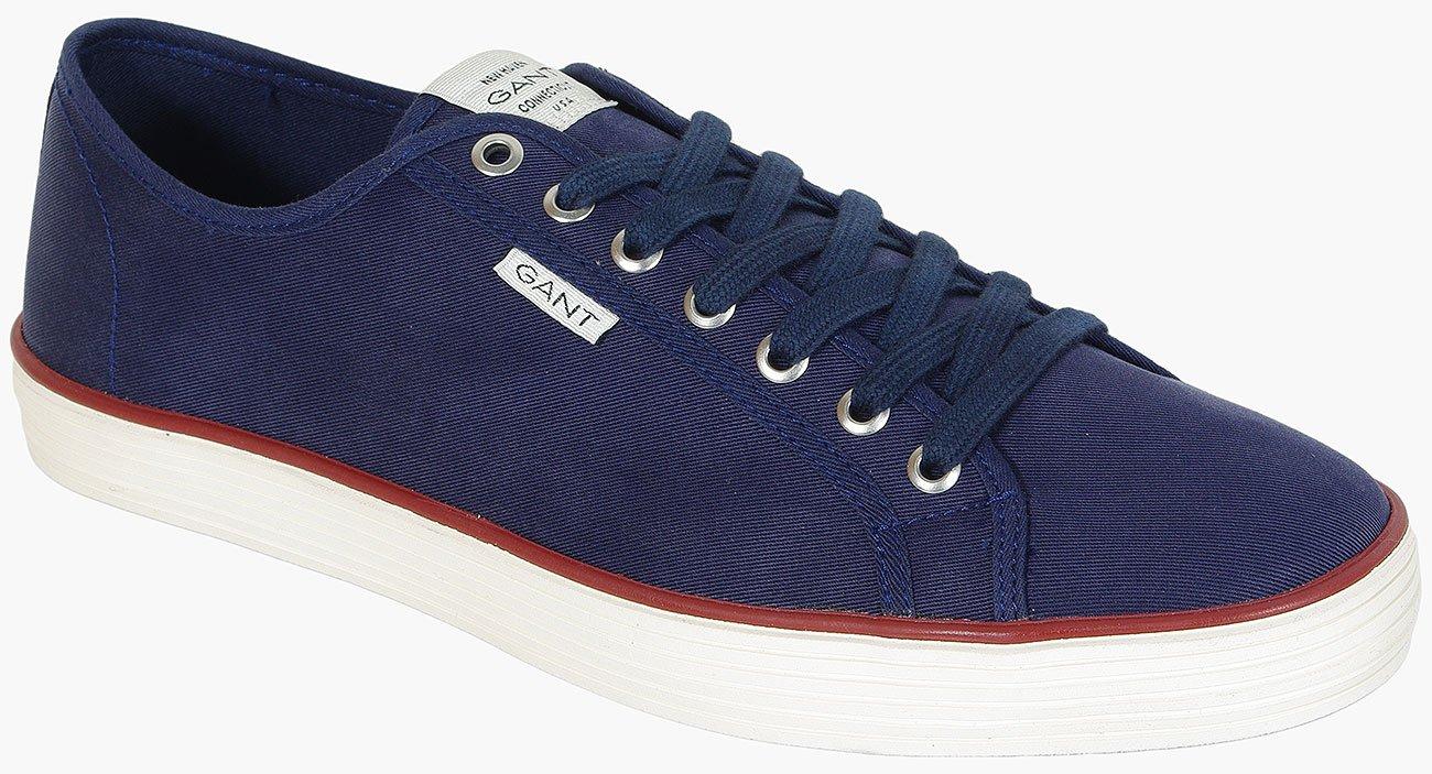 Gant Baron Tencel Twill marine sneakers