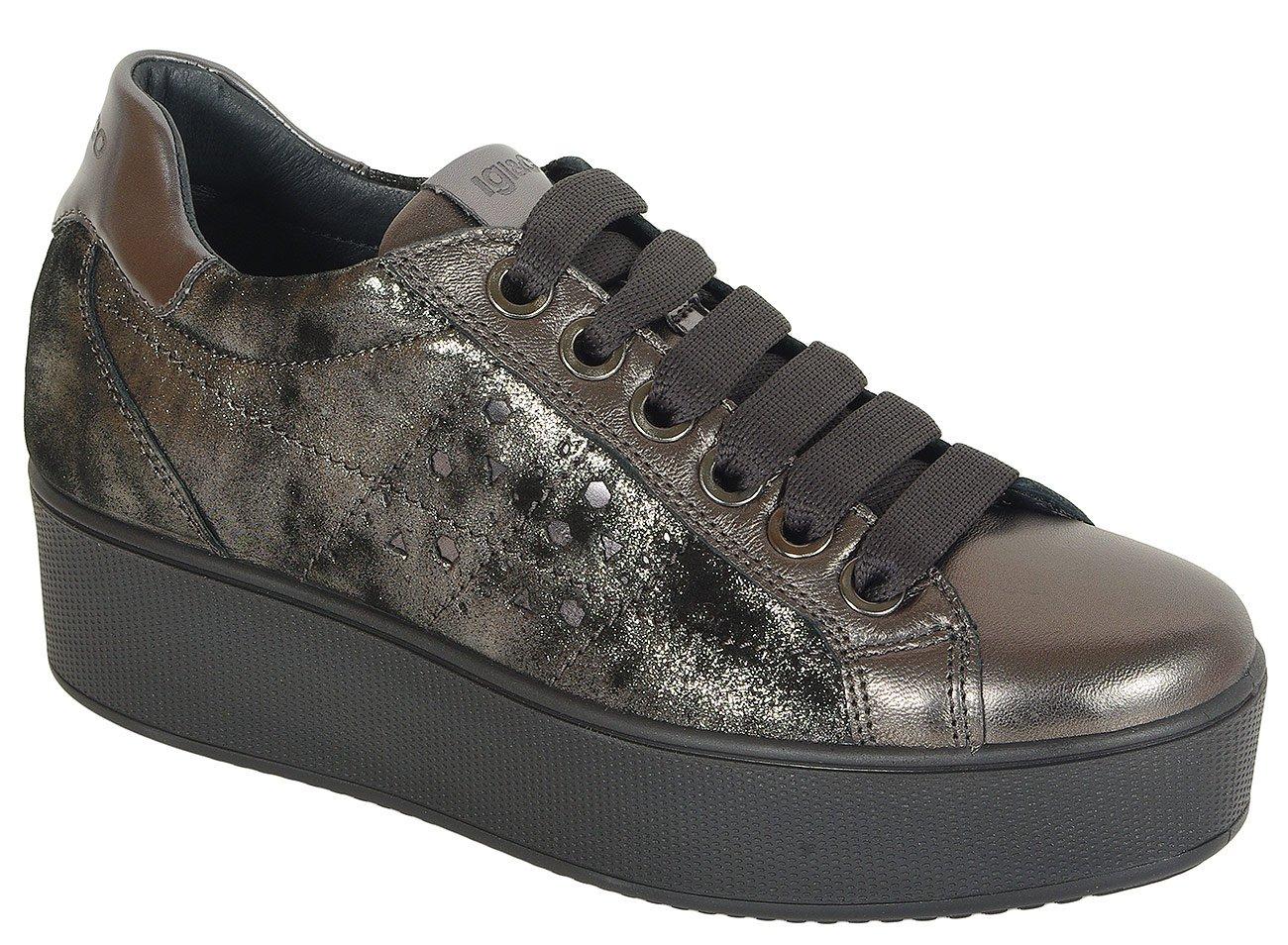 igi&co 41522 sneakers cap anthracite