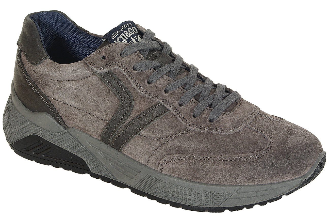 igi&co 41361 sneakers scamosciato brush anthracite