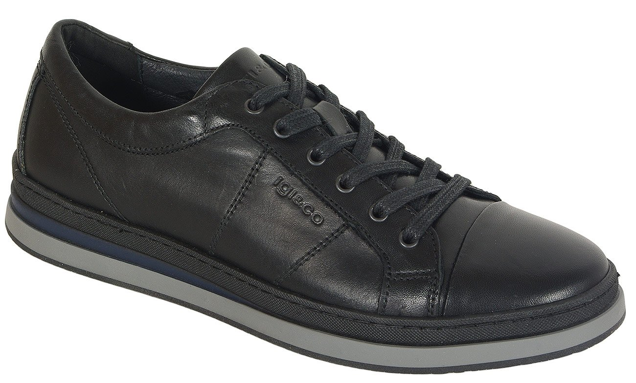 igi&co 41301 sneakers vitello nero