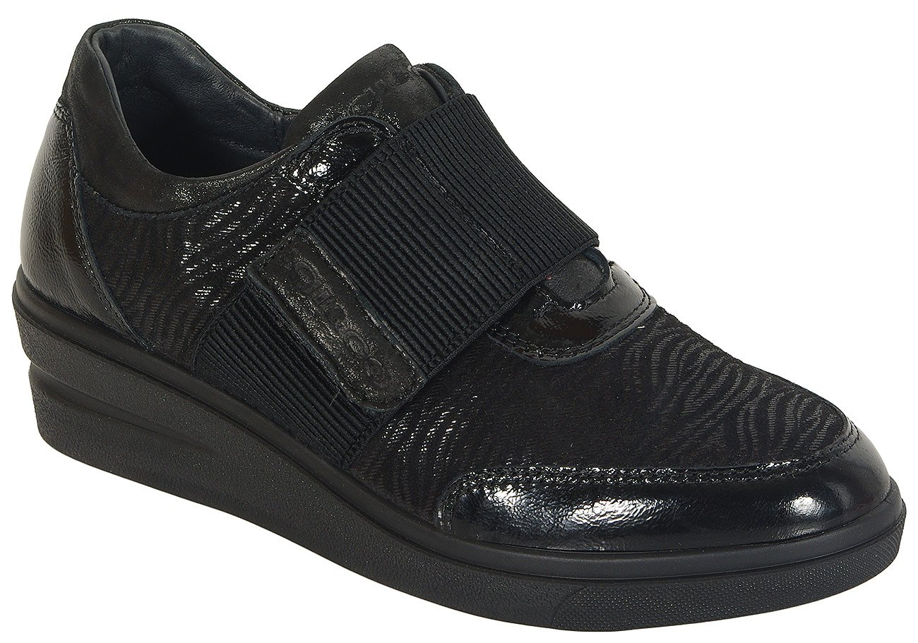 igi&co 41401 sneakers capra eyes nero