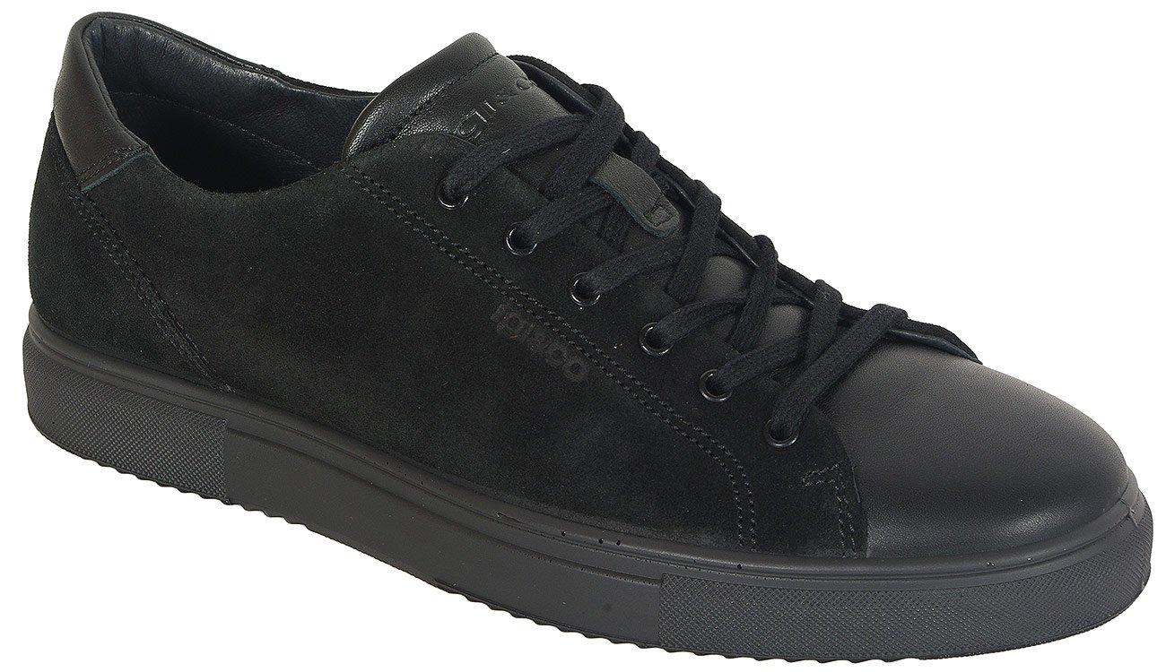igi&co 41270 sneakers scamoscio nero