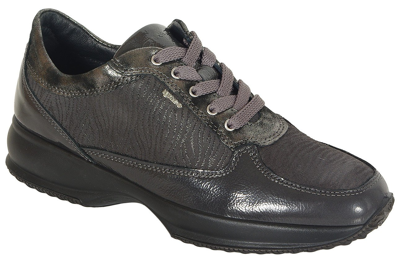 igi&co 41443 sneakers vernice naplack anthracite