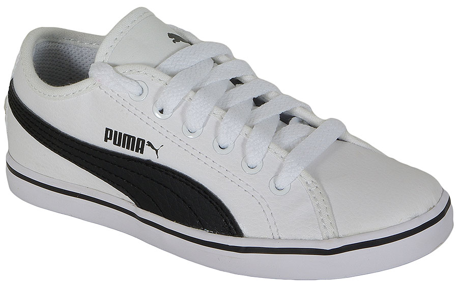 PUMA ELSU V2 SL JR 359847 WHITE-BLACK SNEAKERS