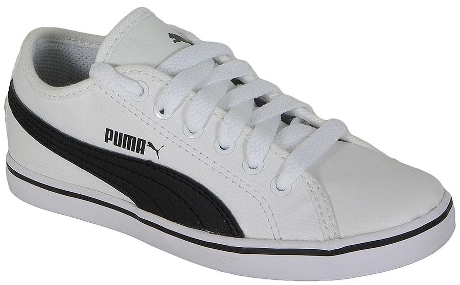 PUMA ELSU V2 SL JR 359847 WHITE-BLACK SNEAKERS