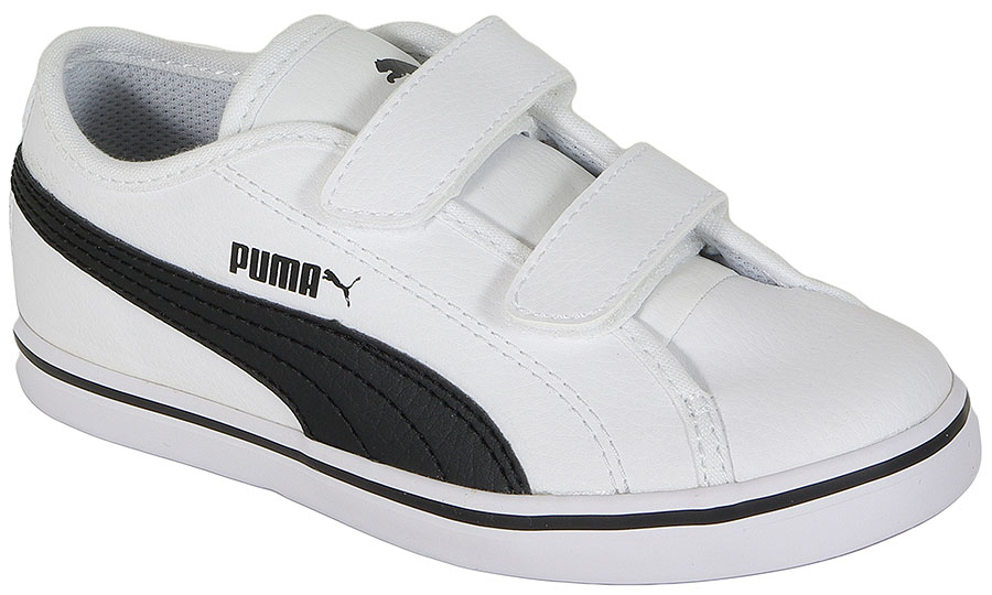 PUMA ELSU V2 SL V KIDS 359848 WHITE-BLACK SNEAKERS